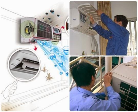 Bảo dưỡng điều hòa tại nhà hà nội