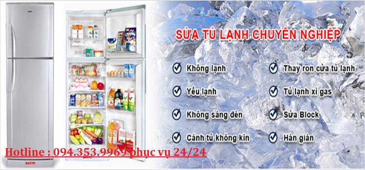 sửa tủ lạnh chính hãng tại hà nội