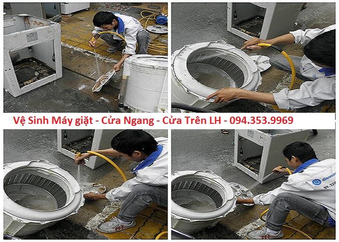 vệ sinh bảo dưỡng máy giặt